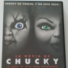 Cine: LA NOVIA DE CHUCKY 1998 DVD MUÑECO DIABOLICO RONNY YU JENNIFER TILLY BRAD DOURIF KATHERINE HEIGL. Lote 178342733