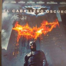 Cine: BATMAN EL CABALLERO OSCURO DVD. Lote 178394873