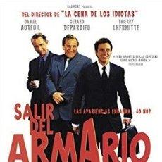Cine: SALIR DEL ARMARIO DIRECTOR: FRANCIS VEBER ACTORES: DANIEL AUTEUIL, GERARD DEPARDIEU. Lote 178567948