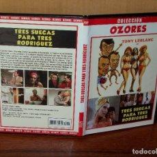 Cine: TRES SUECAS PARA TRES RODRIGUEZ - ANTONIO OZORES - TONY LEBLANC - DVD CAJA FINA. Lote 178573287