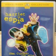 Cine: HARRIET LA ESPIA - DVD - ORIGINAL - MUY DESCATALOGADA - MICHELLE TRACHTENBERG - BUFFY CAZAVAMPIROS. Lote 178603187