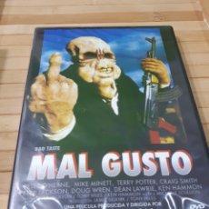 Cine: MAL GUSTO ( BAD TASTE) DVD -PRECINTADO. Lote 178608611