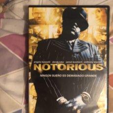 Cine: NOTORIOUS DVD DESCATALOGADO. Lote 178624031