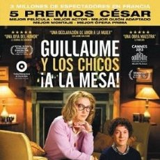Cine: GUILLAUME Y LOS CHICOS ¡A LA MESA! DIRECTOR: GUILLAUME GALLIENNE ACTORES: GUILLAUME GALLIENNE. Lote 178690737