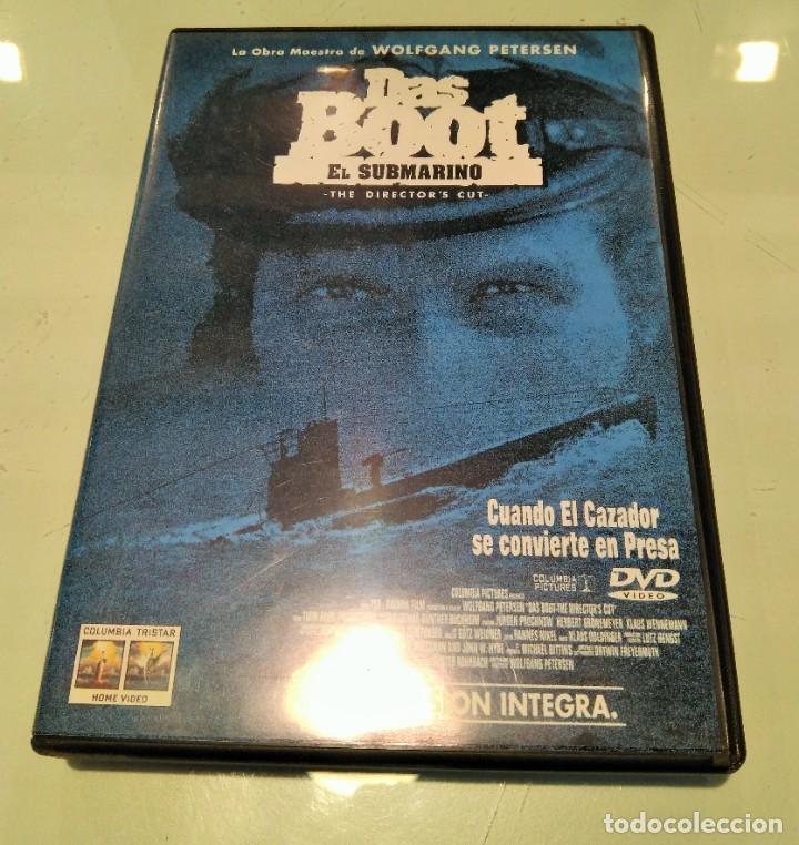 DAS BOOT -EL SUBMARINO- DVD (Cine - Películas - DVD)