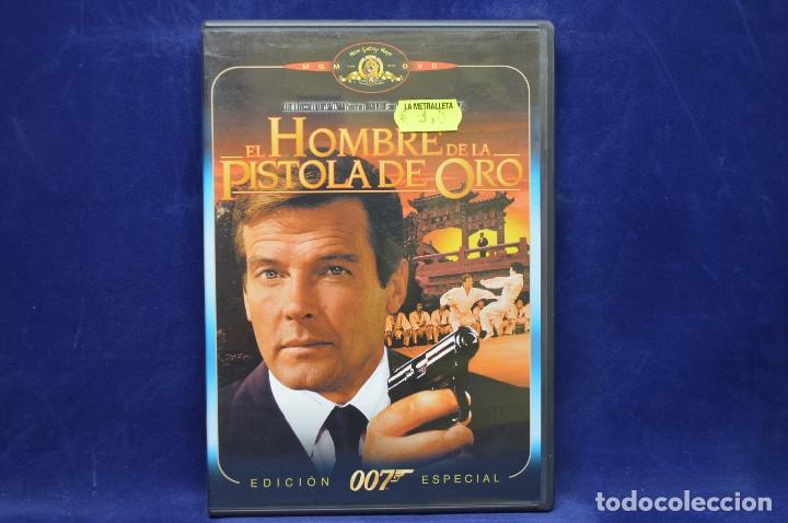 EL HOMBRE DE LAS PISTOLAS DE ORO - DVD (Cine - Películas - DVD)