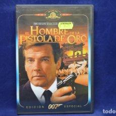 Cine: EL HOMBRE DE LAS PISTOLAS DE ORO - DVD. Lote 178726356
