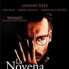Cine: LA NOVENA PUERTA DIRECTOR: ROMAN POLANSKI ACTORES: JOHNNY DEPP, FRANK LANGELLA, LENA OLIN. Lote 178726468
