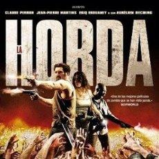 Cine: LA HORDA DIRECTOR: YANNICK DAHAN, BENJAMIN ROCHER ACTORES: CLAUDE PERRON, JEAN-PIERRE MARTINS, ERI. Lote 178727593