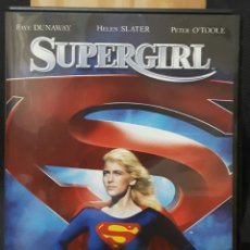Cine: SUPERGIRL - DVD - ORIGINAL - MUY DESCATALOGADA - HELEN SLATER - DIFICIL DE CONSEGUIR - DC COMICS. Lote 178801246
