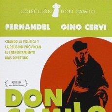 Cine: DON CAMILO DIRECTOR: JULIEN DUVIVIER ACTORES: FERNANDEL, GINO CERVI, VERA TALCHI, FRANCO INTERLENG. Lote 178853005