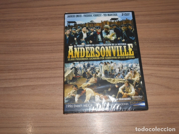 ANDERSONVILLE EDICION ESPECIAL 2 DVD 167 MIN. NUEVA PRECINTADA (Cine - Películas - DVD)