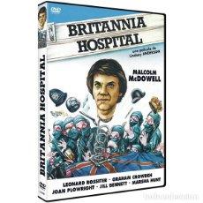 Cine: BRITANNIA HOSPITAL - LINDSEY ANDERSON - PRECINTADO - ENVIO GRATIS. Lote 178885847