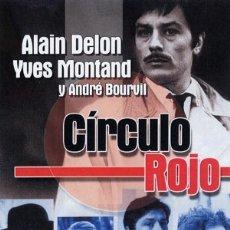 Cine: CIRCULO ROJO / JEAN PIERRE MELVILLE / ALAIN DELON - VOLONTE - MONTAND - PRECINTADO / ENVIO GRATIS. Lote 178886467