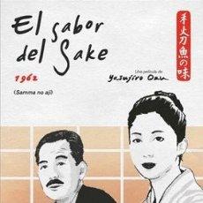 Cine: EL SABOR DEL SAKE DIRECTOR: YASUJIRO OZU ACTORES: CHISHU RYU, SHIMA IWASHITA, SHINICHIRO MIKAMI. Lote 178897753