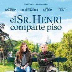 Cine: EL SR. HENRI COMPARTE PISO DIRECTOR: IVAN CALBERAC ACTORES: CLAUDE BRASSEUR, GUILLAUME DE TONQUEDE. Lote 178897835