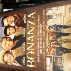 Cine: 5 DVDS DE BONANZA CON SUS MEJORES CAPITULOS MIKI DANI. Lote 178901511