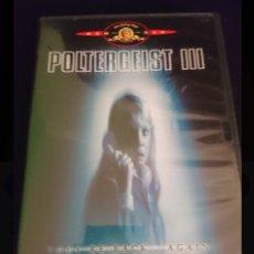 Cinema: POLTERGEIST III 3 FENOMENOS EXTRAÑOS - DVD CON DOBLAJE EN CASTELLANO. Lote 205276453