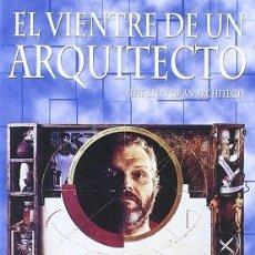 Cine: EL VIENTRE DE UN ARQUITECTO DIRECTOR: PETER GREENAWAY ACTORES: BRIAN DENNEHY, CHLOE WEBB. Lote 178932292