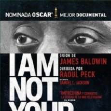 Cine: I AM NOT YOUR NEGRO DIRECTOR: RAOUL PECK DOCUMENTAL . Lote 178937268