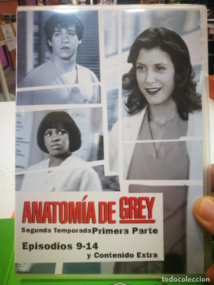 DVD ANATOMIA DE GREY SEGUNDA TEMPORADA PRIMERA PARTE EPISODIOS 9-14 Y CONTENIDO EXTRA (Cine - Películas - DVD)