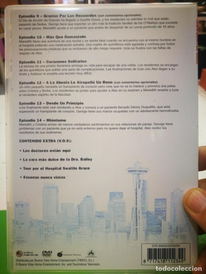 Cine: DVD ANATOMIA DE GREY Segunda temporada primera parte episodios 9-14 y contenido extra - Foto 2 - 178945898