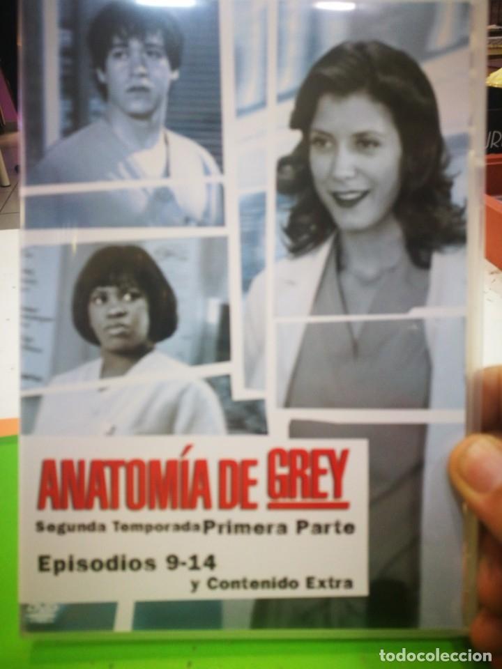 ANATOMÍA DE GREY SEGUNDA TEMPORADA PRIMERA PARTE EPISODIOS 9-14 Y CONTENIDO EXTRA (Cine - Películas - DVD)