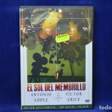 Cine: EL SOL DEL MEMBRILLO - DVD. Lote 178946212