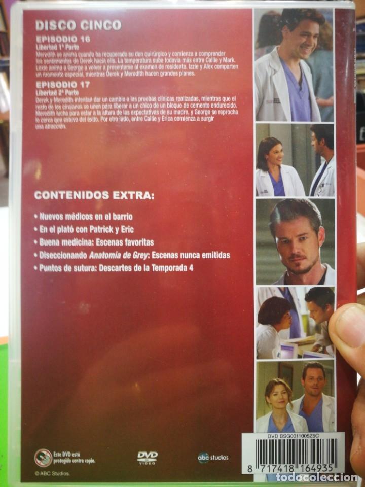 Cine: DVD ANATOMÍA DE GREY CUARTA TEMPORADA AMPLIADA EPISODIOS 16-17 y contenido EXTRA - Foto 2 - 178946931