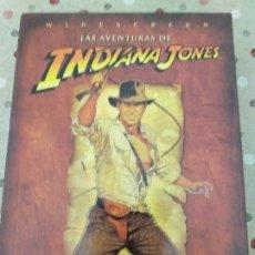 Cine: INDIANA JONES, TRILOGIA ORIGINAL +DVD EXTRA. Lote 178948950