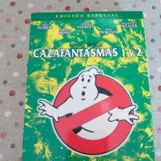 Cine: LOS CAZAFANTASMAS I Y II. Lote 178949123