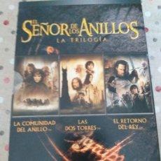 Cine: EL SEÑOR DE LOS ANILLOS: LA TRILOGIA. Lote 178949336
