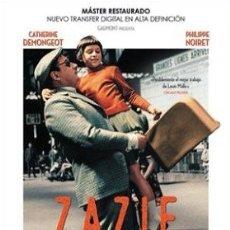 Cine: ZAZIE EN EL METRO DIRECTOR: LOUIS MALLE ACTORES: CATHERINE DEMONGEOT, PHILIPPE NOIRET, HUBERT DESC. Lote 178961231