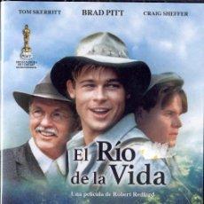 Cine: EL RÍO DE LA VIDA (DVD PRECINTADO). ROBERT REDFORD, 1992. Lote 178968127