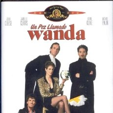 Cine: UN PEZ LLAMADO WANDA. DVD NUEVO Y PRECINTADO. CHARLES CRICHTON, 1988. Lote 178970423