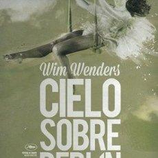 Cine: CIELO SOBRE BERLÍN DIRECTOR: WIM WENDERS ACTORES: BRUNO GANZ, SOLVEIG DOMMARTIN, OTTO SANDER . Lote 178971292