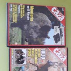 Cine: 2 DVDS FEDER CAZA. Lote 179013452