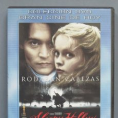 Cine: DVD. SLEEPY HOLLOW. Lote 179016747
