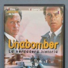 Cine: DVD. UNABOMBER. Lote 179016778