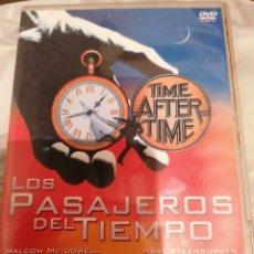 Cine: LOS PASAJEROS DEL TIEMPO-TIME AFTER TIME-DVD. Lote 179031845