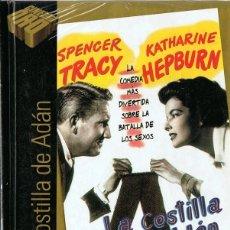 Cine: LA COSTILLA DE ADÁN SPENCER TRACY (LIBRO DVD PRECINTADO). Lote 179091061