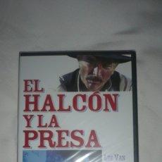 Cine: EL HALCÓN Y LA PRESA SIN ESTRENAR EN DVD. Lote 179091613