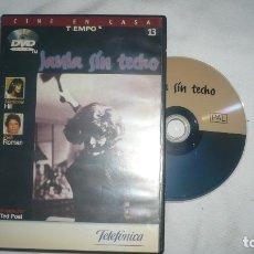 Cine: JAULA SIN TECHO EN DVD. Lote 179091926