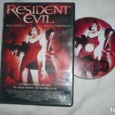 Cine: RESIDENT EVIL EN DVD. Lote 179093870