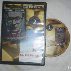 Cine: EL TOPO EN DVD. Lote 179095812