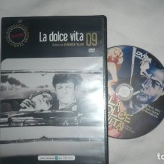 Cine: LA DOLCE VITA EN DVD. Lote 179096966