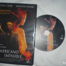 Cine: EL AMERICANO IMPASIBLE EN DVD. Lote 179098071