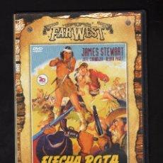 Cine: DVD: FLECHA ROTA (INT: JAMES STEWART / JEFF CHANDLER / DEBRA PAGET) · DIR: DELMER DAVES · 1950. Lote 179099473
