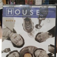 Cine: DVD HOUSE TEMPORADA UNO DISCO 4. Lote 179104200