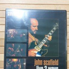 Cine: JOHN SCOFIELD LIVE 3 WAYS (THIS IS DVD JAZZ) DVD -PRECINTADO-. Lote 179105190
